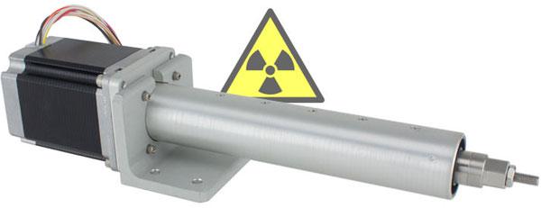 Radiation Linear Actuator